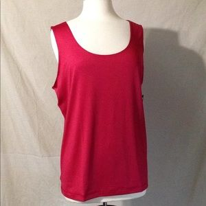 Worthington Cherry Cordial Spandex Stretch Tank